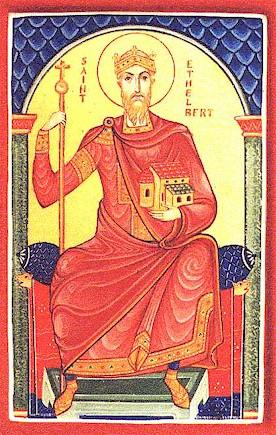 Святой Этельберт, король Кентский