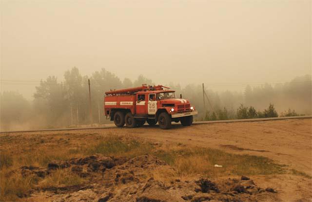 В тушении участвовали не только выксунские пожарные, но и их колеги из Нижнего и Москвы