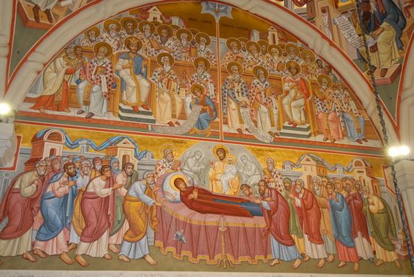 Фрески М.Морошана в румынском монастыре Путна. <br>Фотография предоставлена братией обители