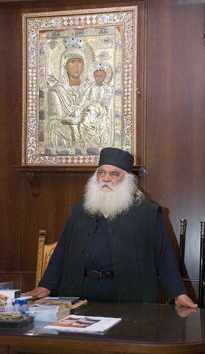 Архимандрит Парфений (Мурелатос). Фото: А.Поспелов / Православие.Ru