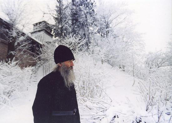 Father Nathaniel (Pospelov). Foto by fr. Tikhon (Shevkunov)