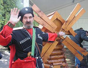 Казачий есаул Николай Будко
