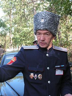 Казачий полковник Александр Еськин