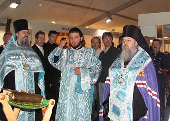Молебен на открытие казачьей выставки-ярмарки «Слава Богу, мы казаки!»