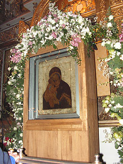 Чудотворная Донская икона Божией Матери в Большом соборе