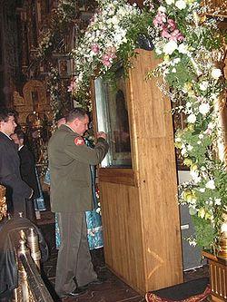 У Донской иконы в Большом соборе