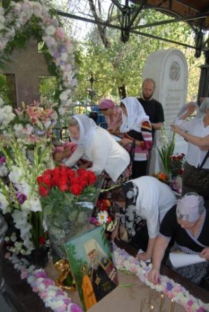 У могилы митрополита Иосифа