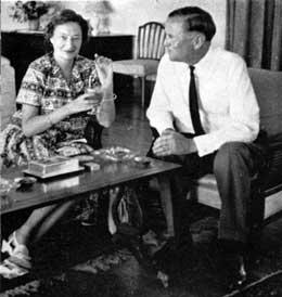 Дочь Наталья с мужем.