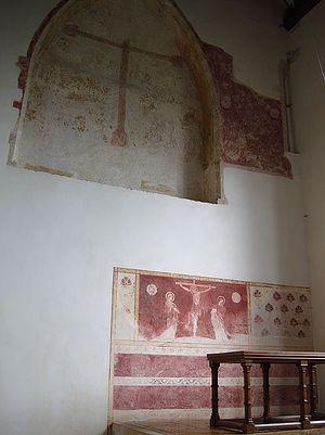 Фрески церкви в Дорчестере-на-Темзе