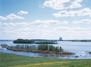 Озеро Удомля. Современный вид