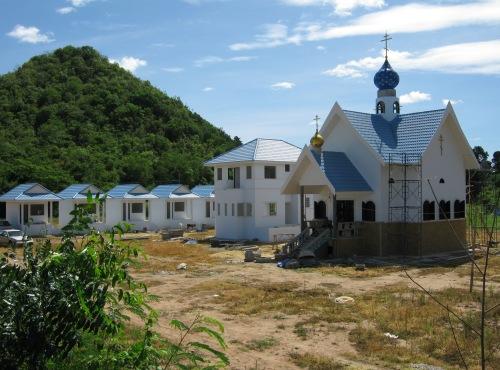Свято-Успенский монастырь в провинции Ратчабури