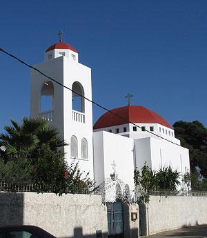 Храм Воскресения Христова в г. Рабате (Марокко)