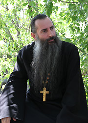 Иеромонах Пимен (Хеладзе). Фото: Денис Каменщиков
