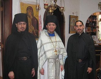Fr. Nektariy and brethren.