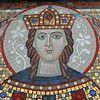 Мозаичная икона св.Екатерины установлена в первой Православной Церкви в Риме