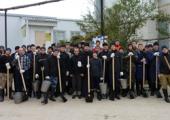 Учащиеся Екатеринодарской духовной семинарии оказывают помощь пострадавшим от наводнения