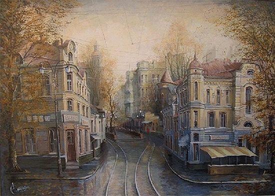 Александр Стародубов. Старая Москва