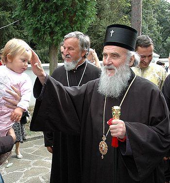 Загрузить увеличенное изображение. 796 x 600 px. Размер файла 183002 b. Святейший Патриарх Сербский Ириней. Фото: иером.Игнатий (Шестаков)