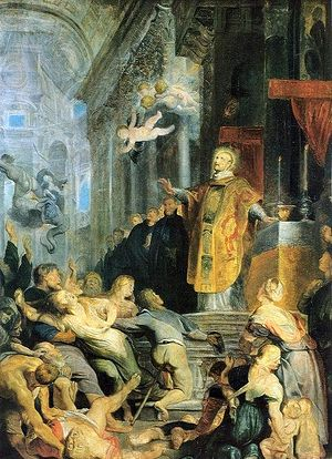 The Vision of St. Ignatius of Loyola (c.1491-1556)