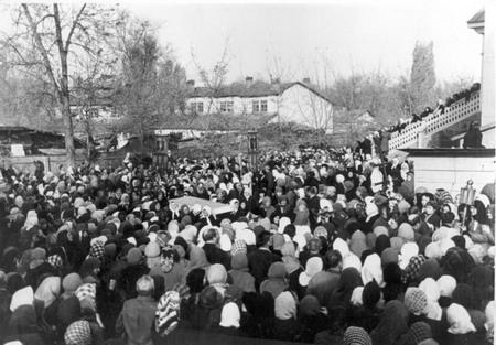 Погребение митрополита Николая (Могилевского)