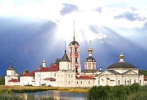 Троице-Сергиев Варницкий монастырь. Вид с юго-запада