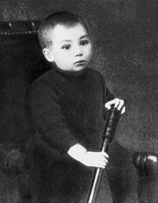 St. Athanasius in boyhood.