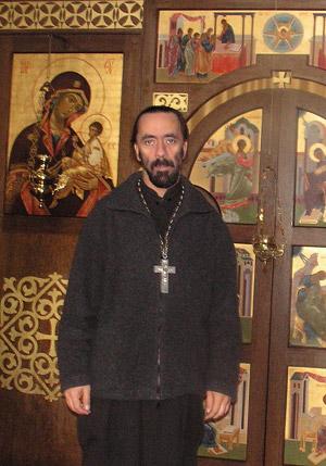 Клирик храма святителя Николая протоиерей Илия Лимбергер