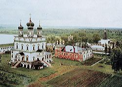 The monastery of St. Joseph of Volokolamsk.