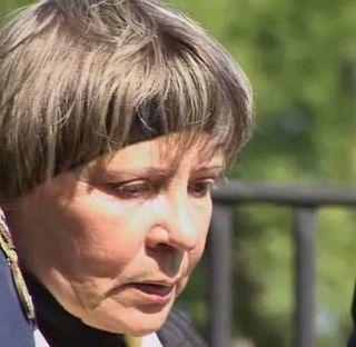 Liubov Rodionova, Evgeny's mother.