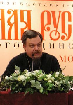 Председатель Синодального отдела по взаимоотношениям Церкви и общества протоиерей Всеволод Чаплин