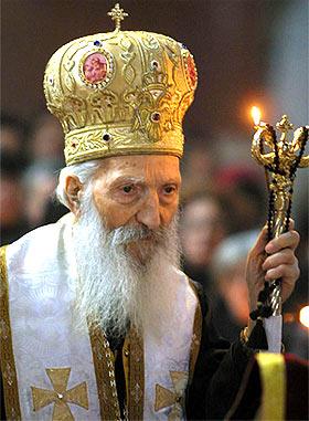 Святейший Патриарх Сербский Павел. Фото: ФОНЕТ