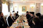Святейший Патриарх Кирилл встретился с представителями Поместных Православных Церквей, принимающими участие в Международной богословской конференции Русской Православной Церкви