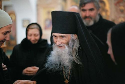 Схиархимандрит Илий (Ноздрин). Фото Дмитрия Ярцева