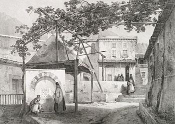 Монастырь св. вмч. Екатерины. Рисунок 1830 г.