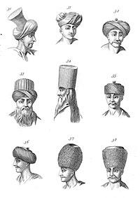 Типажи людей, живущих на Синайском полуострове.