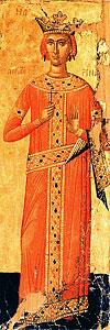 Икона святой великомученицы Екатерины.