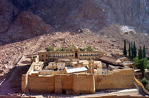 Современный вид Синайского монастыря
