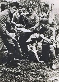 Убийство заключенного в Ясеноваце