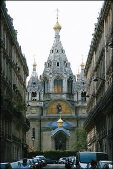 Собор блгв. князя Александра Невского на улице Дарю, Париж.Вселенский Патриархат. Построен в 1861 году