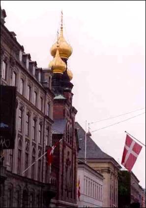 Русский храм св. блгв. князя Александра Невского в Копенгагене. Построен в 1883 году