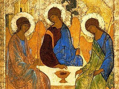 Смысловые особенности цвета в иконе «Святая Троица» преподобного Андрея Рублева