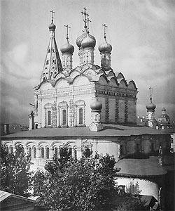Храм свт. Николая в Столпах. Фото из альбома Н. А. Найденова 1882 г.