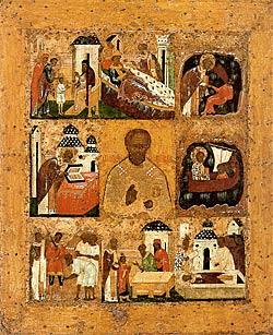 Икона Николы Великорецкого