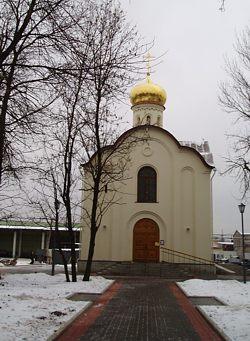 Церковь Николая Чудотворца в Коломягах