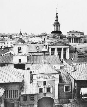 Никольский монастырь. Фото из альбома Найденова