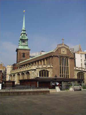 Церковь всех святых Баркинг