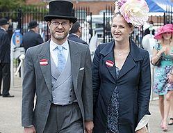 Лорд Николас Виндзор с супругой