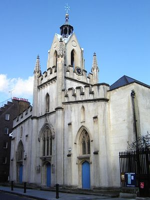 Загрузить увеличенное изображение. 448 x 599 px. Размер файла 51217 b.  Церковь св. Марии Магдалины в Бермондси