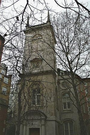 Церковь св. Олафа 'в еврейском квартале'