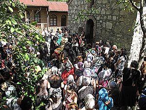 Монастырь во имя преподобного Максима Исповедника близ Цагери